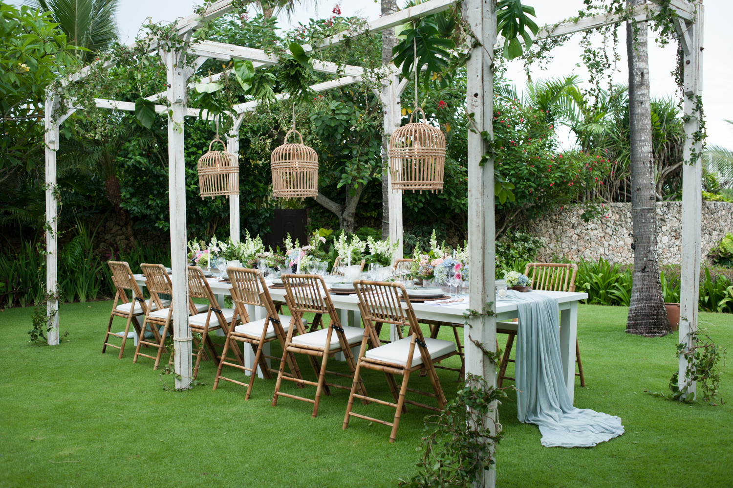 Bambooluxe new season inspo for your bali wedding bali event hire janice from bloomz bali weddings created floral magic by transforming two different wedding reception set ups into mini fairytales junglespirit Choice Image